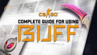 BUFF.163 GUIDE - A comṗlete guide to the biggest CS:GO marketplace