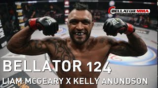 Bellator 124 - Triângulo espetacular! McGeary wins with a spectacular triangle!