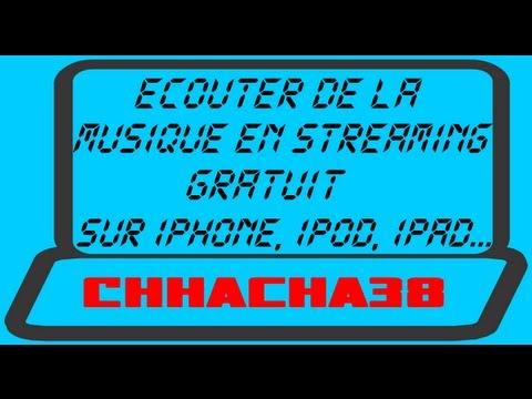 Ecouter de la musique en streaming gratuit sur iPod, iPhone et iPad