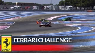 Ferrari Challenge Europe - Le Castellet 2017, Coppa Shell Race 1
