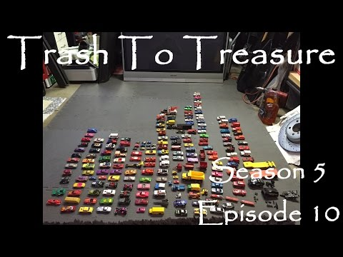 Trash To Treasure Season 5 Episode 10 - Dumpster Diving Web Series - MAJOR HOT WHEELS FIND!!