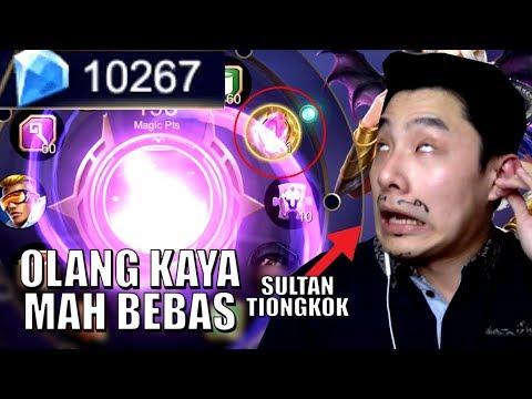 10K DIAMONDS HABIS DEMI SKIN LEGEND (FT. COW YUN PAT) • Mobile Legends Indonesia - 동영상