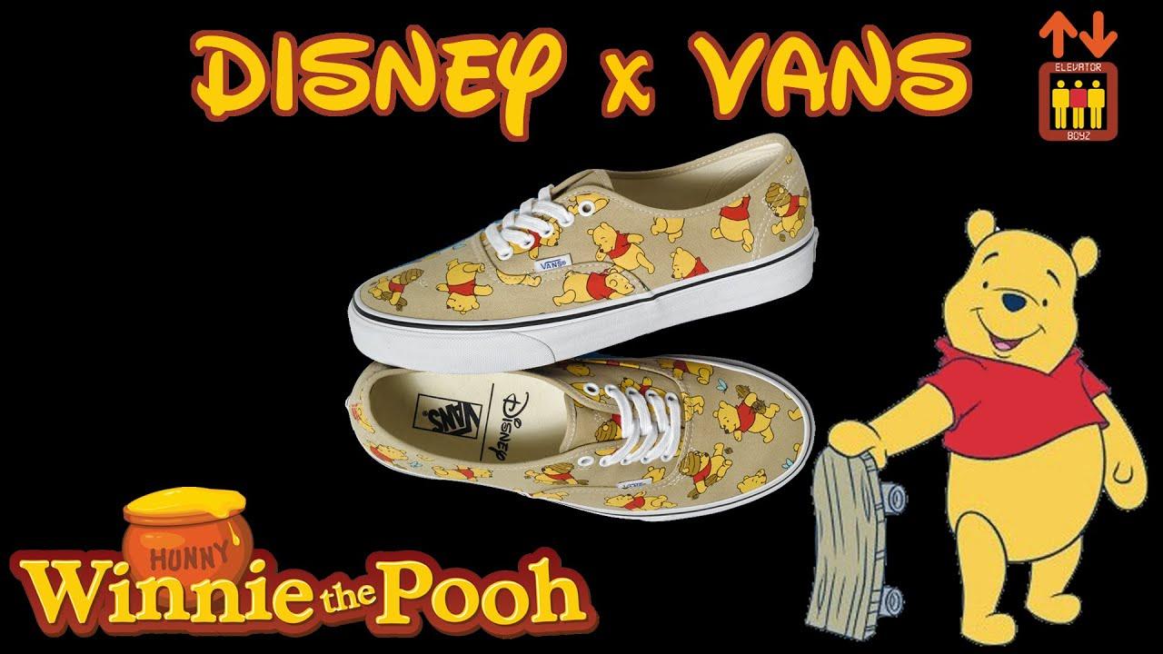 vans disney winnie pooh