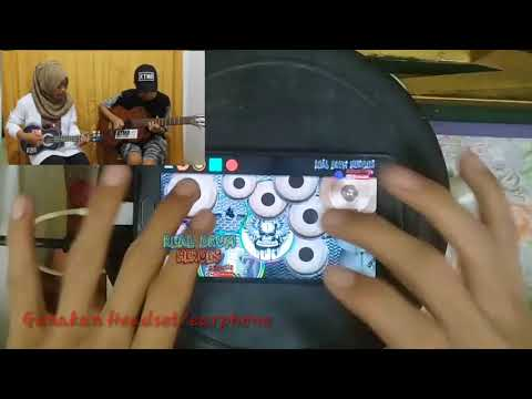 Lungset versi kentrung,gitar&kendang android kolaborasi with fera chocolatos ft Gilang