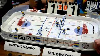 Table Hockey. Moscow Open 2013. Dmitrichenko-Miloradov. Game 3