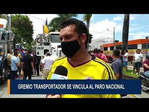 Camioneros del Tolima se unen al paro Nacional