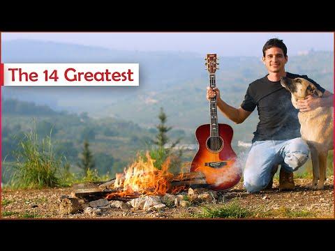 14 Legendary GUITAR CAMPFIRE SONGS - A Short Film
