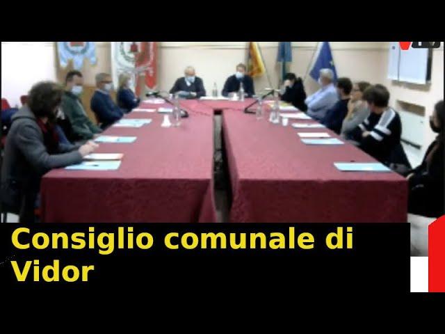 Consiglio comunale di Vidor - Parte 1