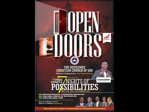7 NIGHTS OF POSSIBILITIES - OPEN DOOR (Day -6)