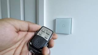 How to pair a Retrotouch mini remote to a touch & remote light switch