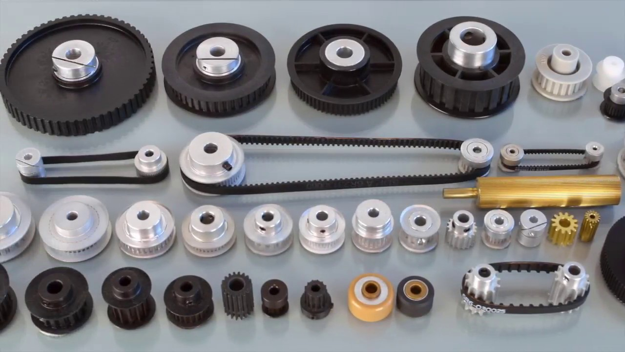 Timing Belts, Pulleys, Sprockets, and Chains for Power