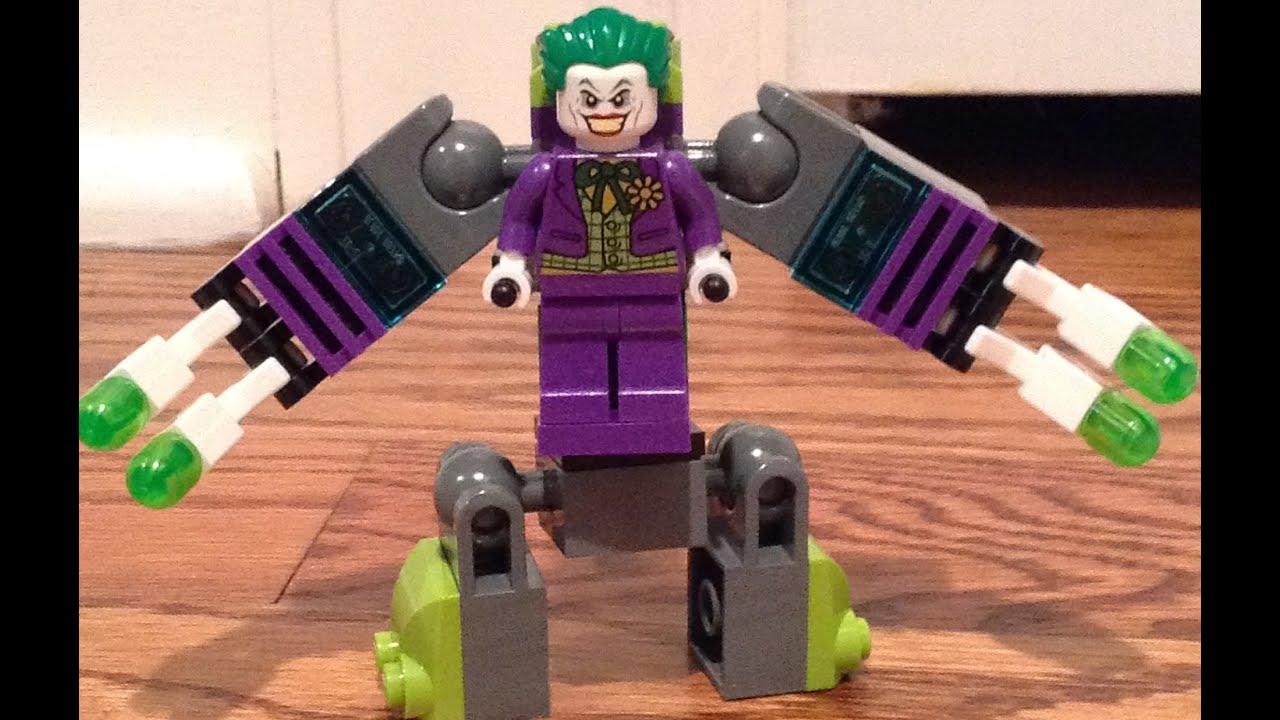 lego the joker mini mech bot toys r us exclusive free mini. Black Bedroom Furniture Sets. Home Design Ideas