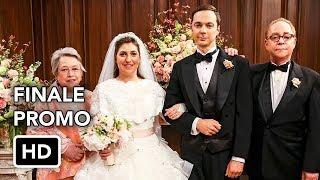 "The Big Bang Theory 11x24 Promo ""The Bow Tie Asymmetry"" (HD) Season Finale / Sheldon & Amy Wedding"