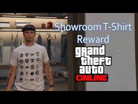 GTA Online Quick Tip - Unlock the Reward Showroom T-shirt