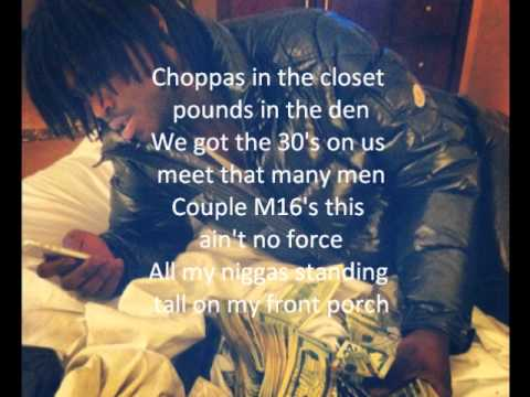 Chief Keef-First Day Out Lyrics