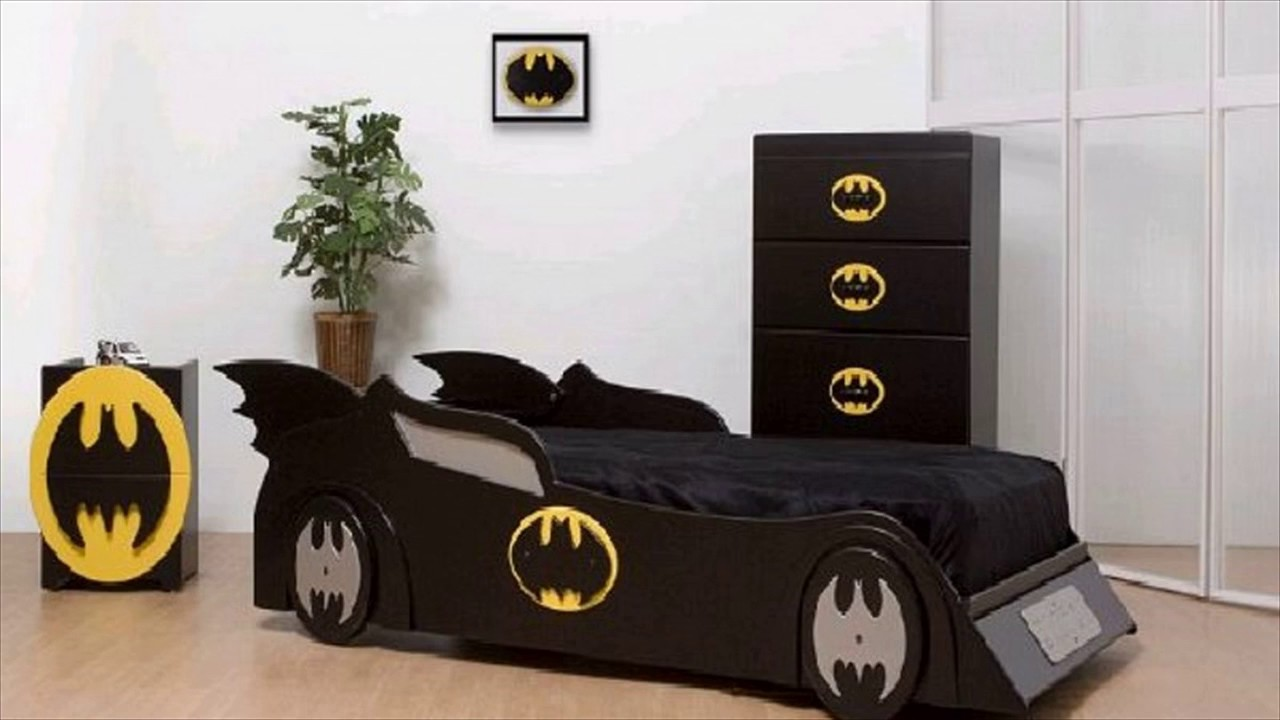 Batman wall decals for kids rooms youtube amipublicfo Image collections