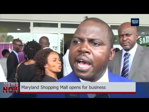 Maryland Shopping Mall opens for business