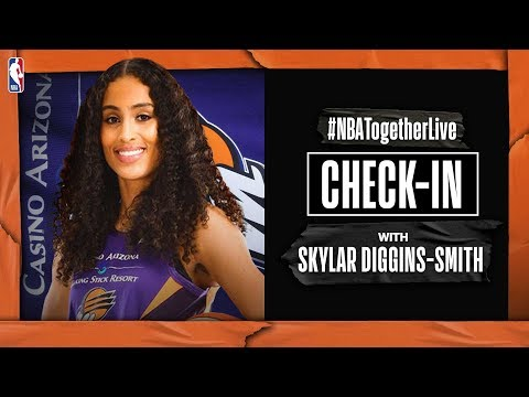 #NBATogetherLive Check-In With Skylar Diggins-Smith