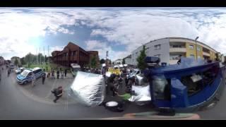 360° Video: Rechter Aufmarsch - Neonazis in Dortmund