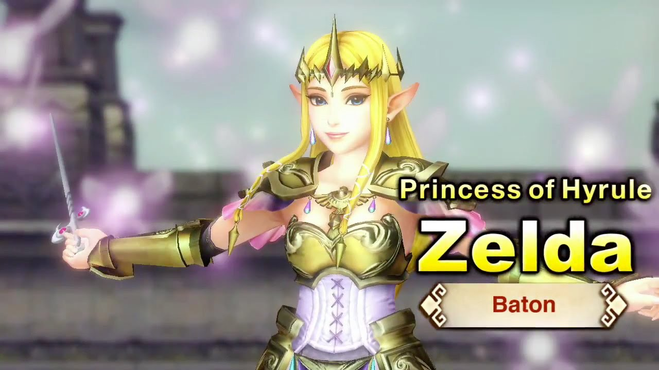 Hyrule Warriors Zelda And Baton Trailer Youtube