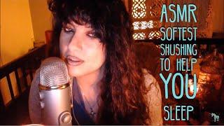 Soft Shushing for Sleep ASMR Therapy~
