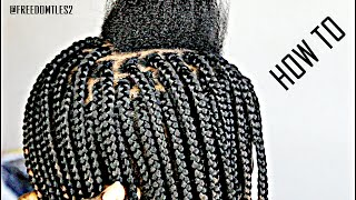 learn how to box braid like a pro only 1 hour