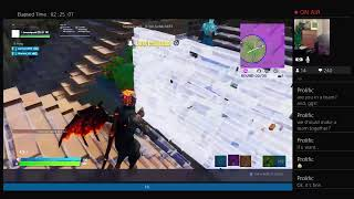 Playing Fortnite instead of working on todays video