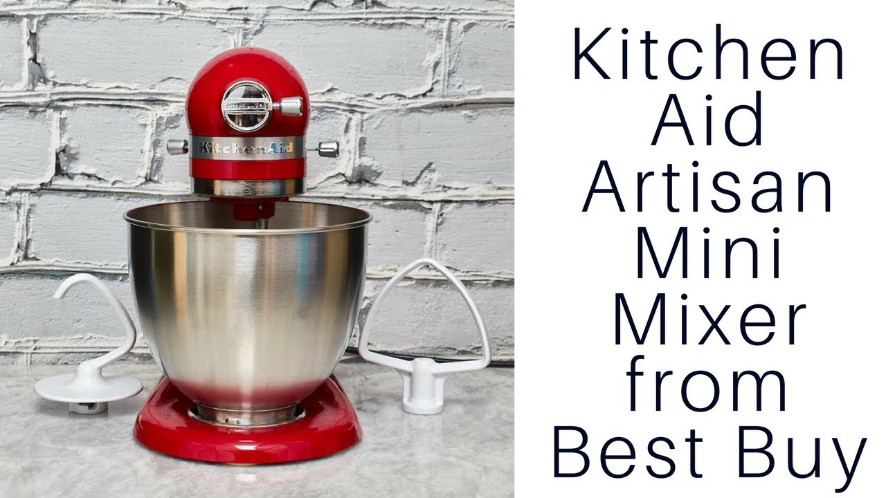 Best Buy Kitchen Aid Making Cabinets Kitchenaid Artisan Mini Mixer From Youtube