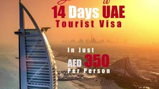 14 Days UAE Tourist Visa