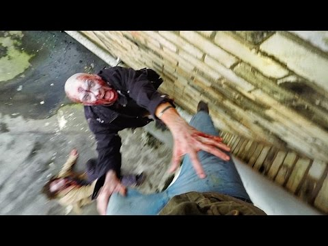 Hồi hộp hơn cả The Walking Dead: Chạy trốn Zombie bằng Parkour