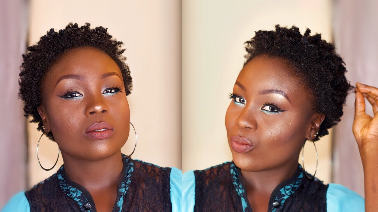 How To: Twist And Lock On Short Natural Hair