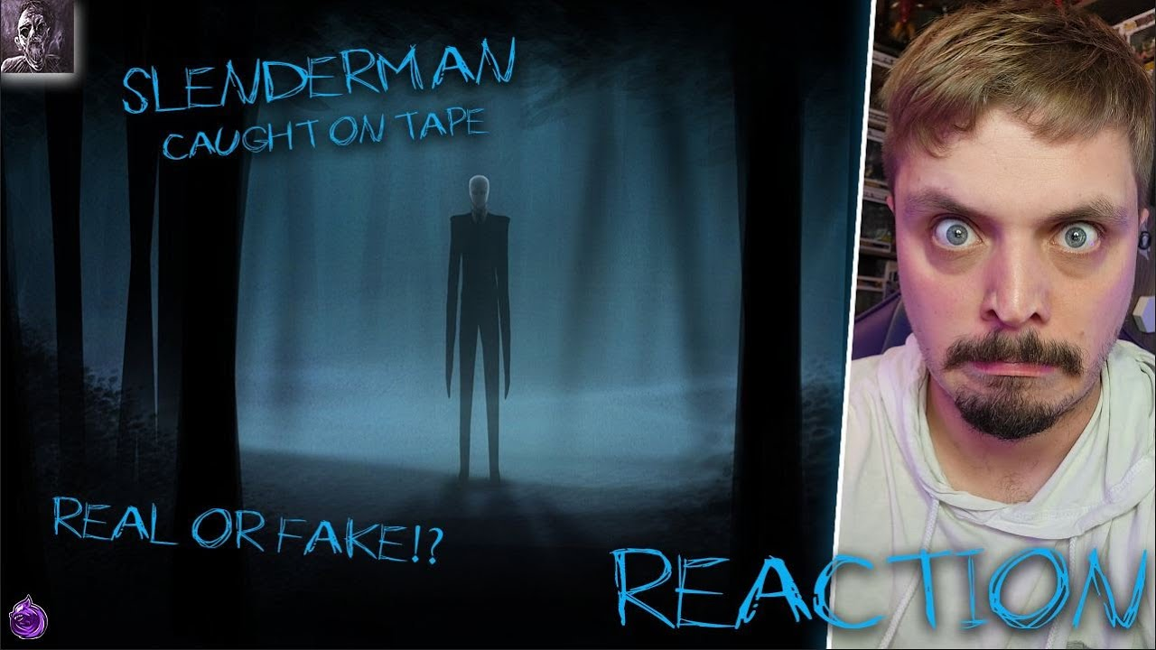 Download Chills - 12 Scariest Slender Man Sightings Caught on Tape | REACTION