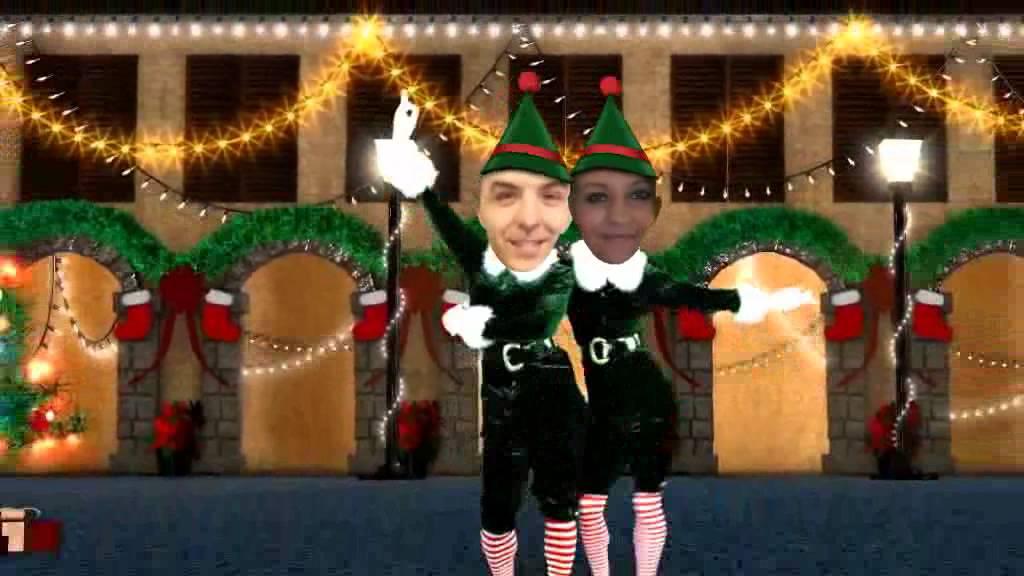 Merry Christmas Elf Yourself Dance Special Usaaffamily Vlog Youtube