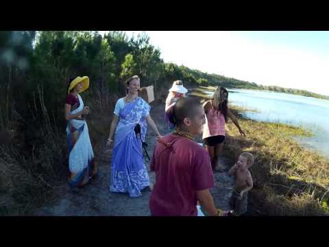 Ocala Regional Rainbow Gathering Walking Harinama