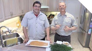 Great Gravlax Recipe - Quick, Simple, Easy & Delicious (Salmon or Trout)