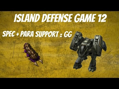 Starcraft 2 Arcade Island Defense - Builder - Game 12 - Parasite