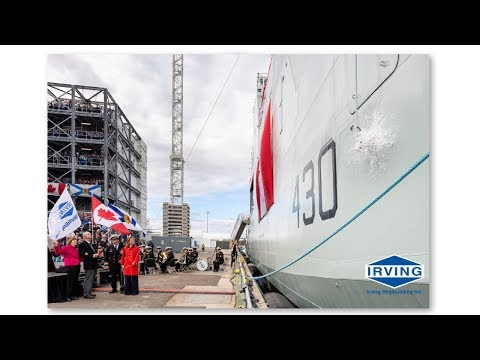 Canada's lead Arctic and Offshore Patrol Ship Officially Named Harry DeWolf