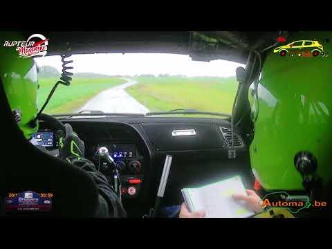 Rallye De Mettet 2019 - Edwyn Tamburini & Samuel Tamburini - Peugeot 306 S 16 - 5 Spéciales