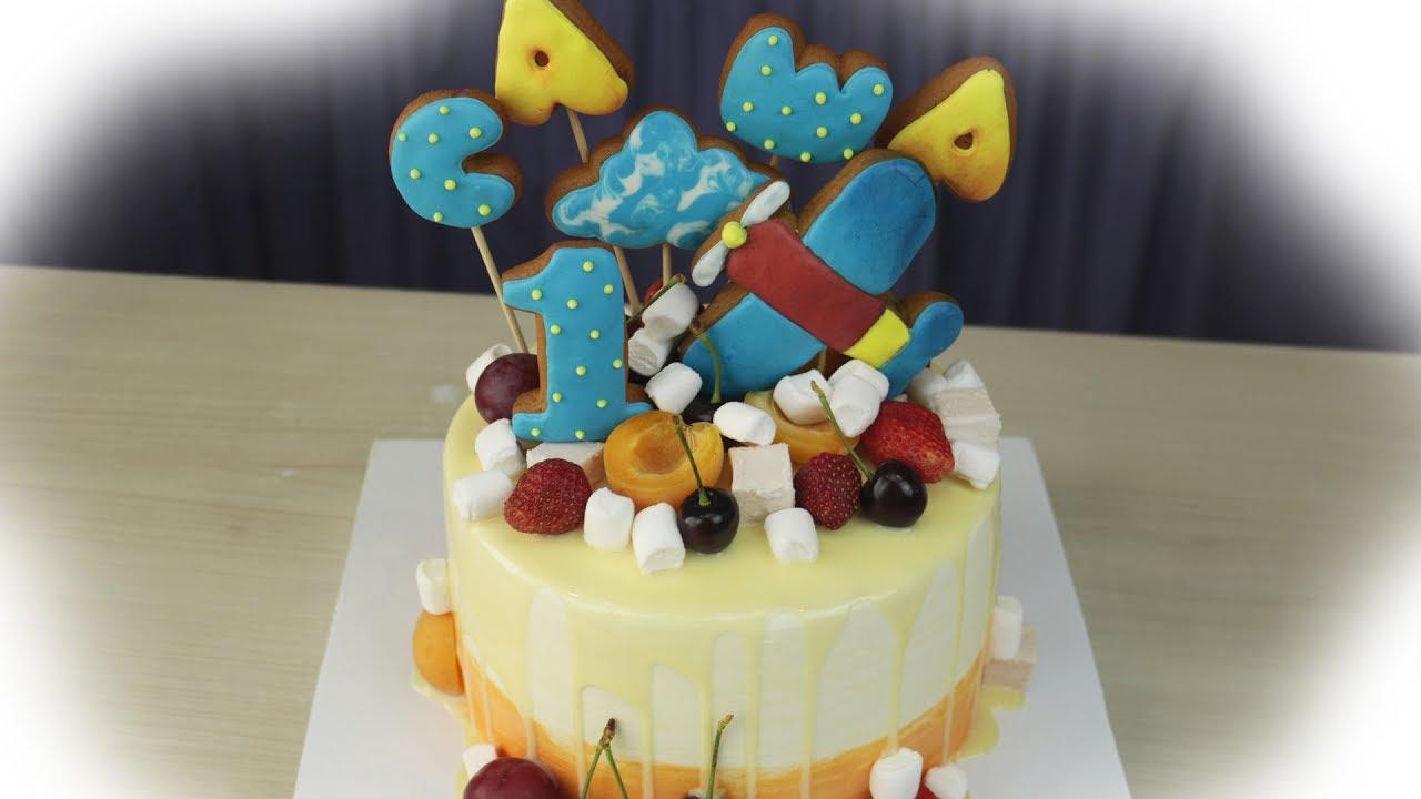 Как украсить торт для мальчика своими руками мастики фото 563