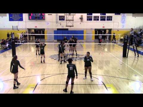 2015-11-10 Upper St. Clair Volleyball vs. Allderdice (PIAA 1st Round)