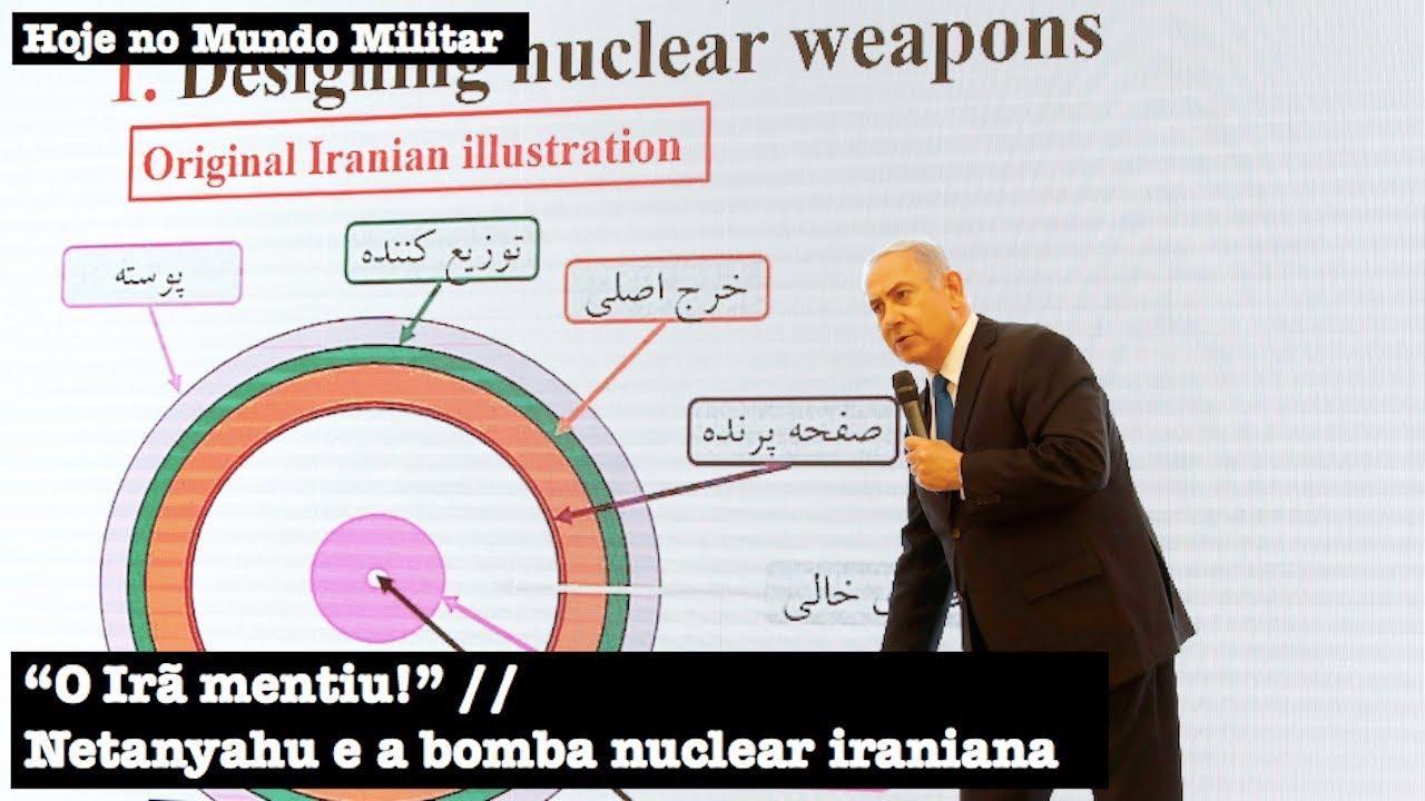 Resultado de imagem para netanyahu irã