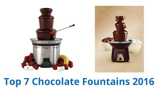 7 best chocolate fountains 2016