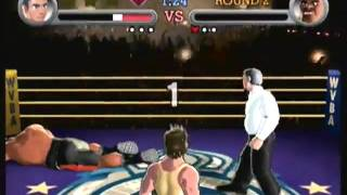 Let's Play Punch-out Wii - Mr. Sandman Td - Match - Rocky Vii Edition
