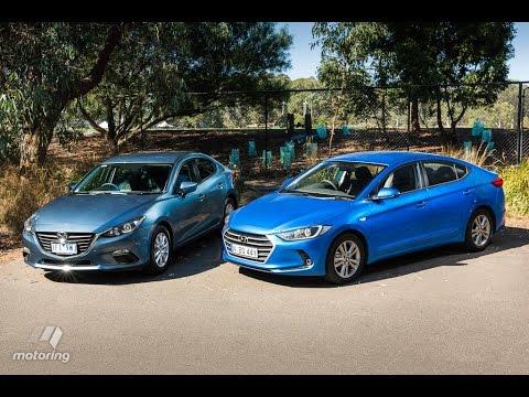 Mazda3 Vs Hyundai Elantra >> Hyundai Elantra Vs Mazda 3 Youtube