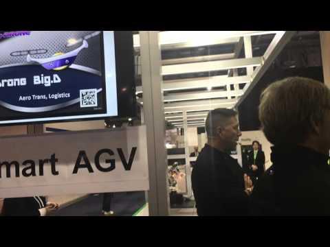 CES 2016 NIDEC Main Show 2 (AGV Drone)