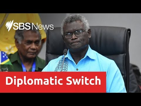 Solomon Islands switch diplomatic ties from Taiwan to China