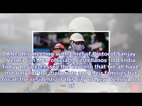 Dean of diplomatic corps conveys envoys concern about delhi pollution to mea officials