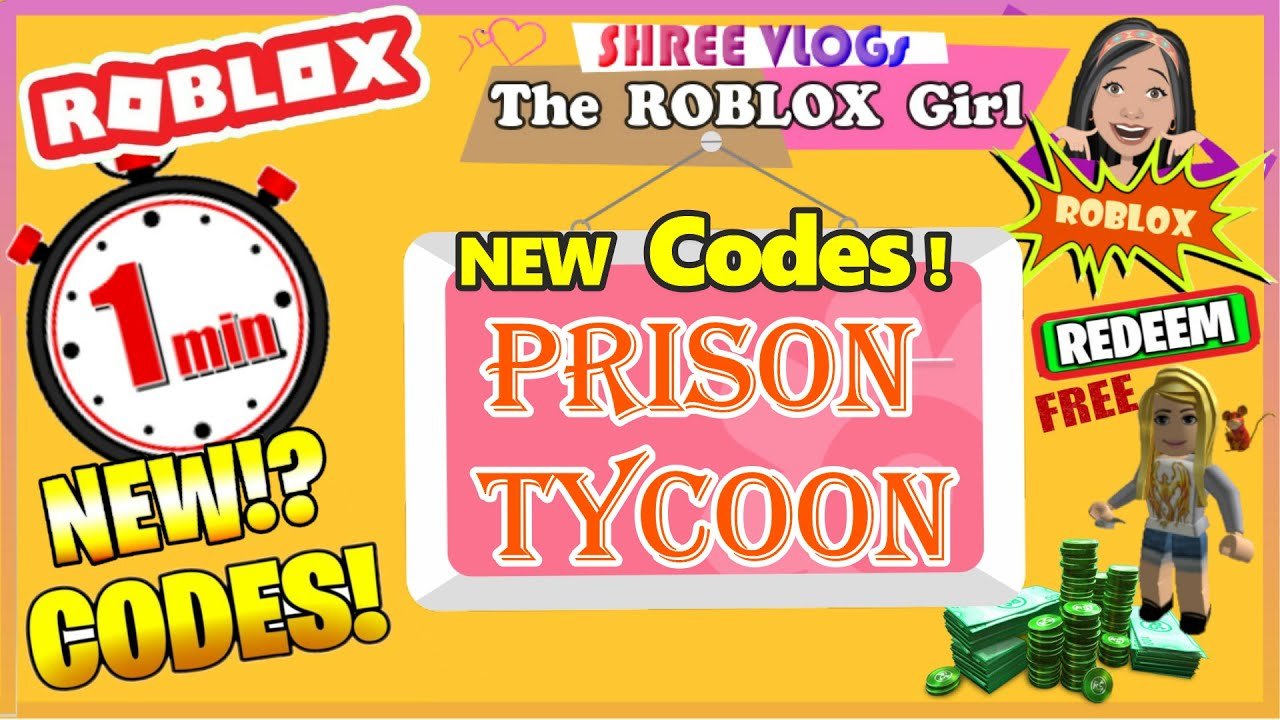 Code Prison Tycoon Roblox Roblox Prison Tycoon Codes In 60 Seconds Codes September New Update Prison Tycoon Codes Youtube