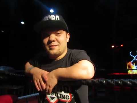 Interview with Boston's Flyin Ryan of Micro Wrestling Federation at Boca Black Box in South Florida