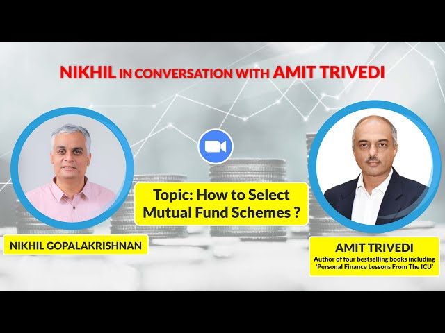 How Can You Select Mutual Fund Schemes- Free Webinar- Part 1